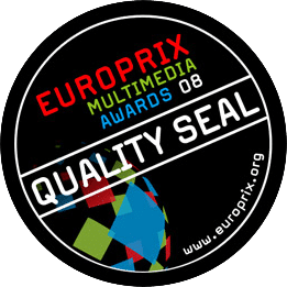 Qualitätssiegel des Europrix Multimedia Awards