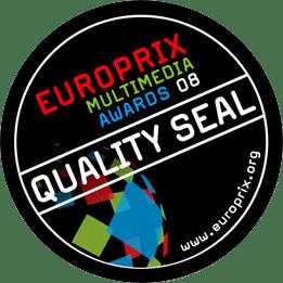 Qualitätssiegel des Europrix Multimedia Awards