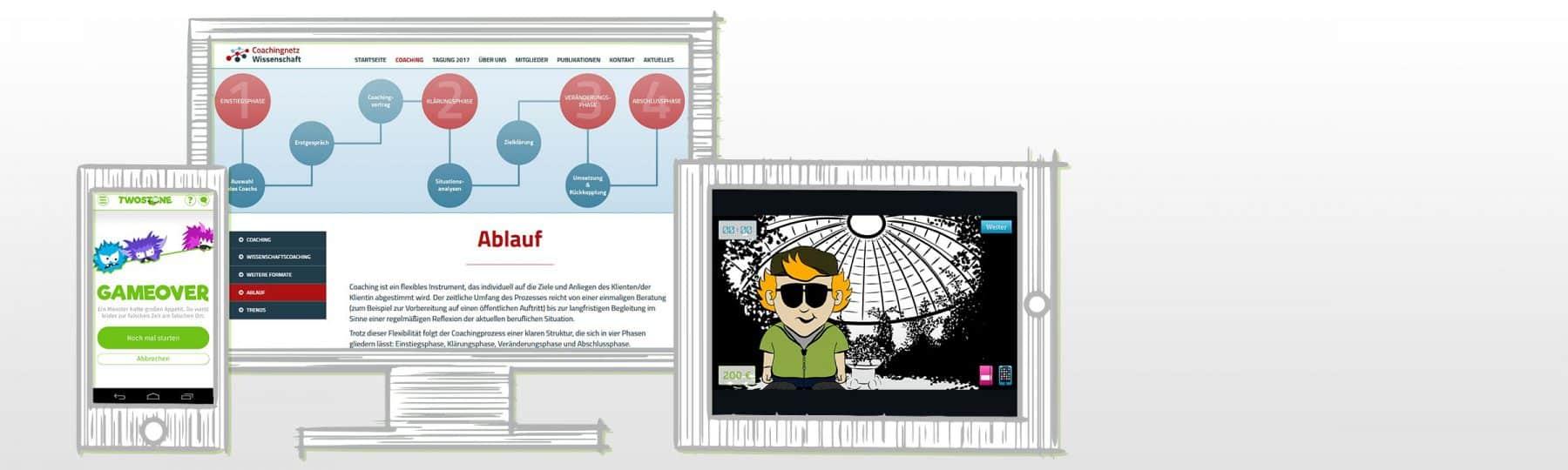 Header Leistungen Internet und Multimedia